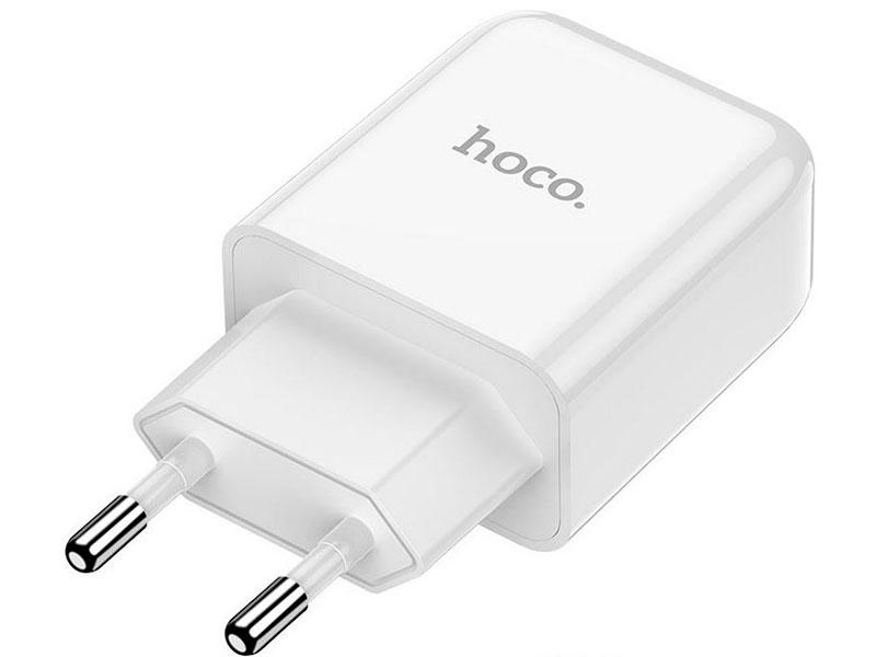 Зарядное устройство Hoco N2 Vigour Single 2A White