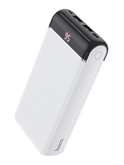 Внешний аккумулятор Hoco Power Bank J59A Famous 20000mAh White