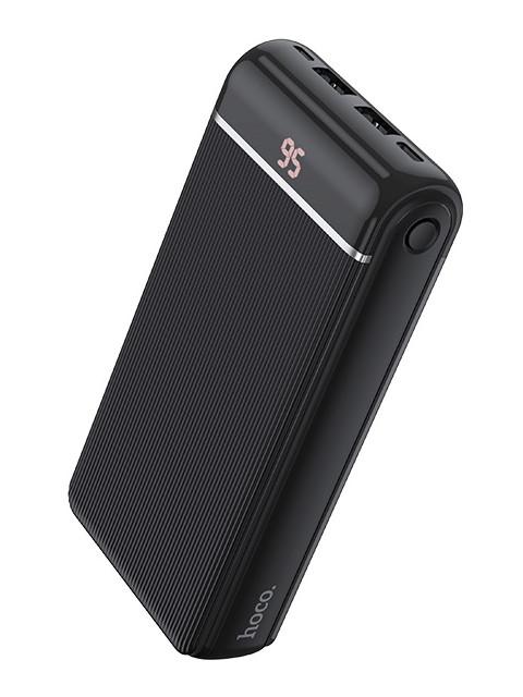 Внешний аккумулятор Hoco Power Bank J59A Famous 20000mAh Black