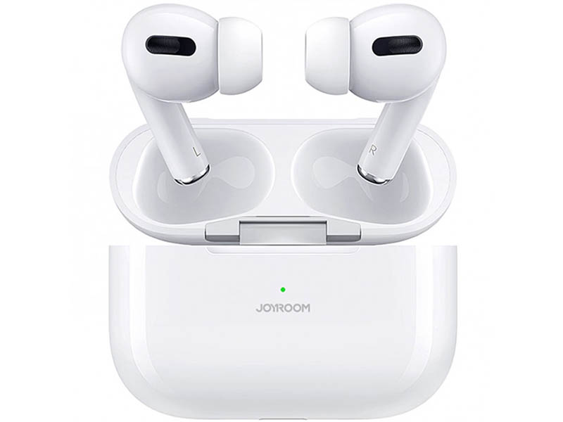 Наушники JoyRoom JR-T03 Pro Bilateral Earbuds White наушники joyroom jr t03 white
