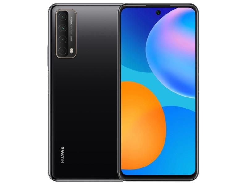 Сотовый телефон Huawei P Smart 2021 4/128Gb Midnight Black Выгодный набор для Selfie + серт. 200Р!!!