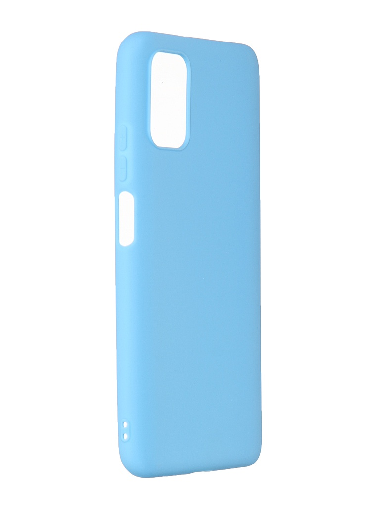 Чехол Zibelino для Xiaomi Poco M3 Soft Matte Light Blue ZSM-XIA-M3-LBLU