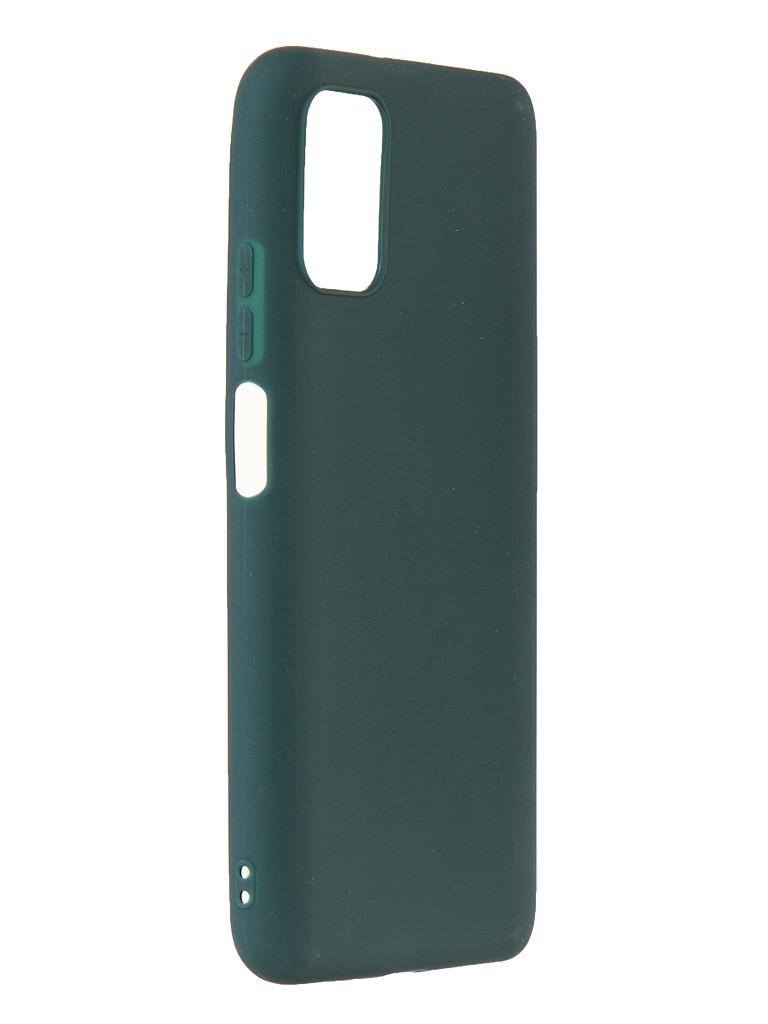 Чехол Zibelino для Xiaomi Poco M3 Soft Matte Dark Green ZSM-XIA-M3-DGRN