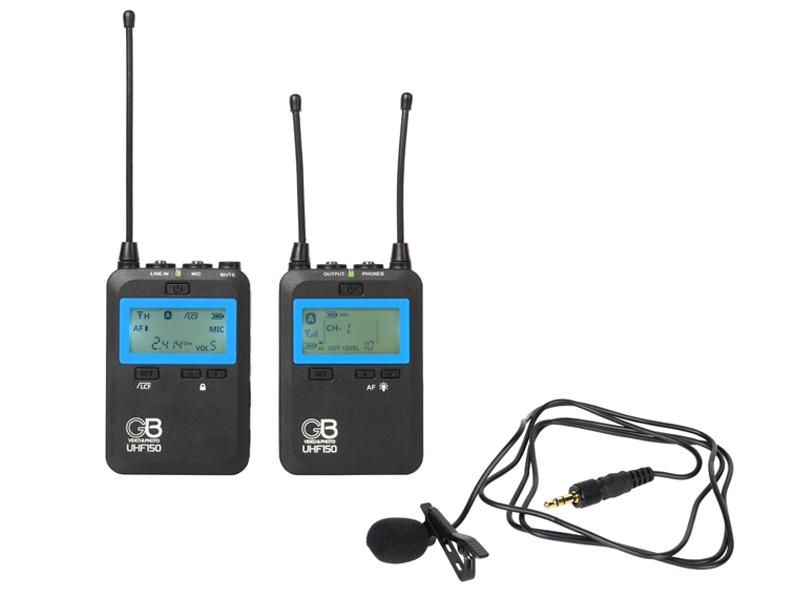 Фото - Радиосистема GreenBean Radio System UHF150 штатив greenbean videomaster 190