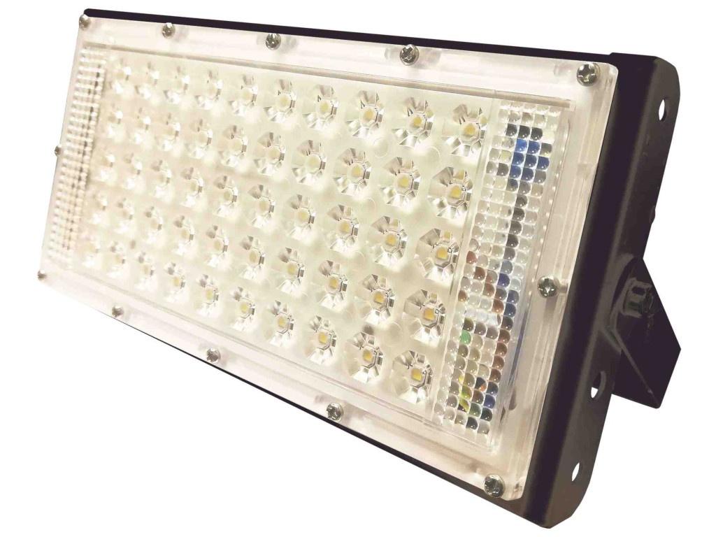 Прожектор Apeyron 50W IP65 4500Lm 4000К Black 05-36