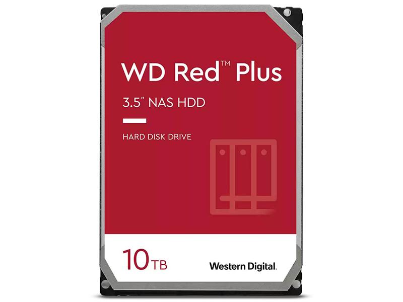 Жесткий диск Western Digital WD Red Plus 10Tb WD101EFBX