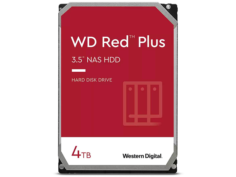 Жесткий диск Western Digital WD Red Plus 4Tb WD40EFZX