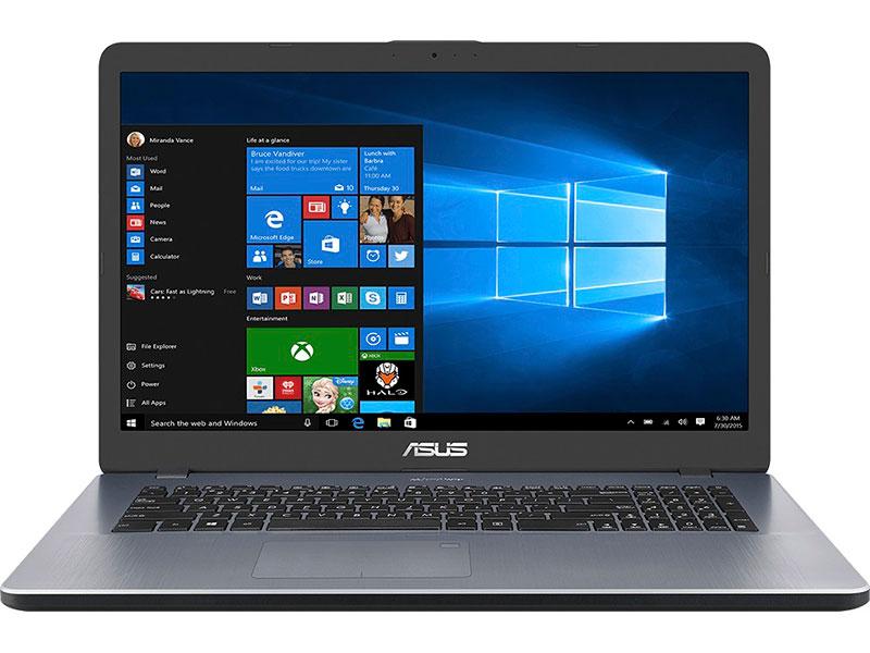 Ноутбук ASUS VivoBook 17 M705BA-BX113 90NB0PT2-M01740 (AMD A4-9125 2.3GHz/8192Mb/256Gb SSD/No ODD/AMD Radeon Graphics/Wi-Fi/17.3/1600x900/No OS)