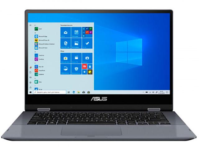 Ноутбук ASUS VivoBook TP412FA-EC518T 90NB0N31-M16590 (Intel Pentium 5405U 2.3GHz/4096Mb/128Gb SSD/No ODD/Intel UHD Graphics/Wi-Fi/Bluetooth/14.0/1920x1080/Windows 10 64-bit)