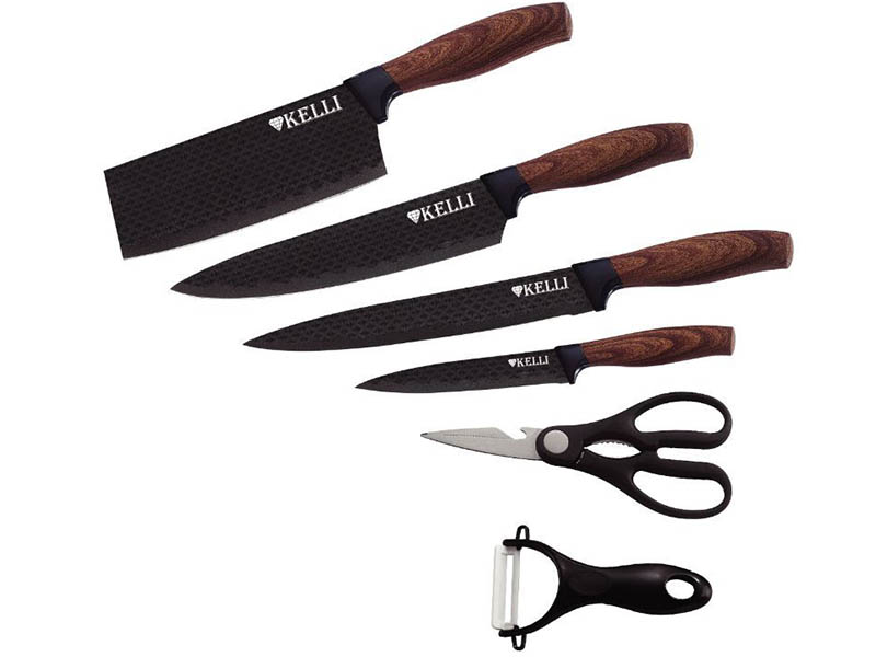 Набор ножей Kelli KL-2034 набор ножей kelli kl 2121