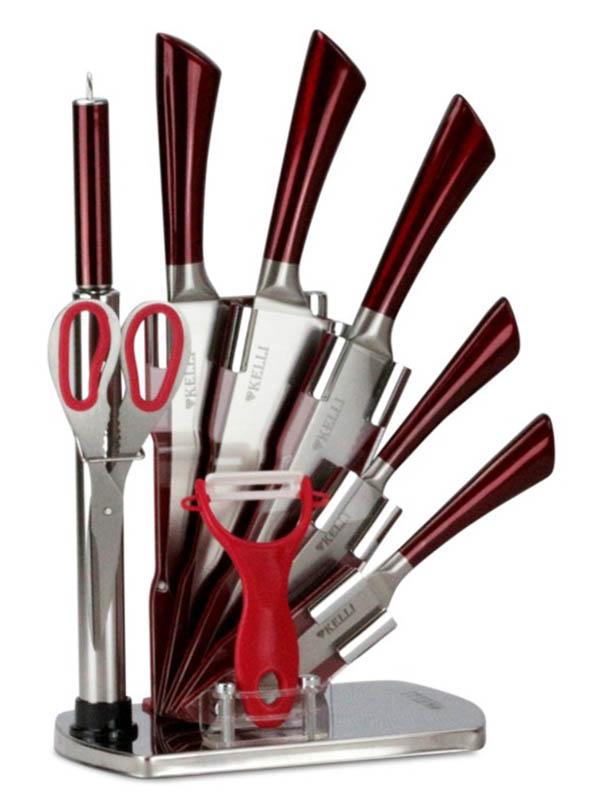 Набор ножей Kelli KL-2084 набор ножей kelli kl 2121