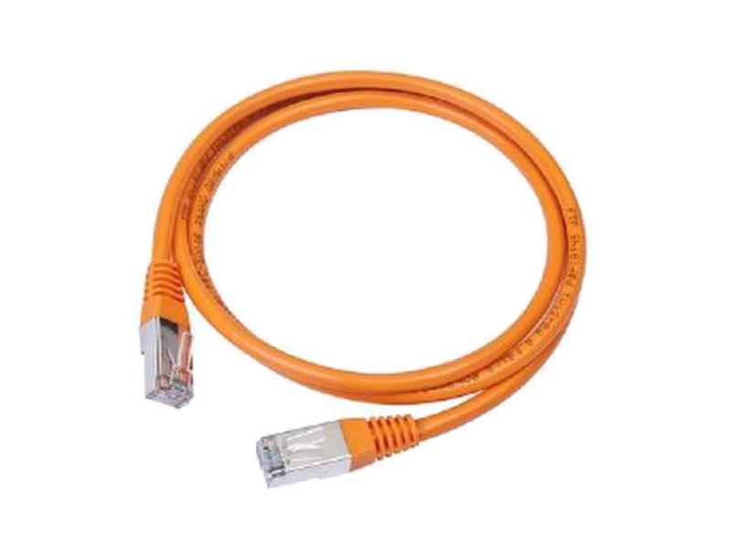 Сетевой кабель Bion UTP cat.5e CCA 2m Orange BCL-PP12-2M/O