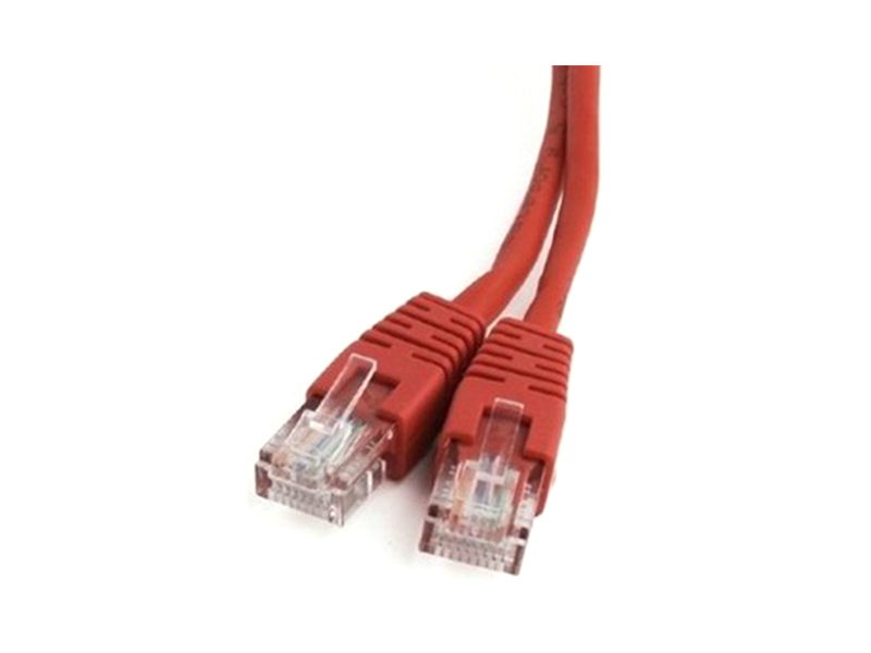 Сетевой кабель Bion UTP cat.5e CCA 2m Red BCL-PP12-2M/R