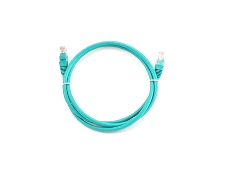 Сетевой кабель Bion UTP cat.5e CCA 2m Green BCL-PP12-2M/G