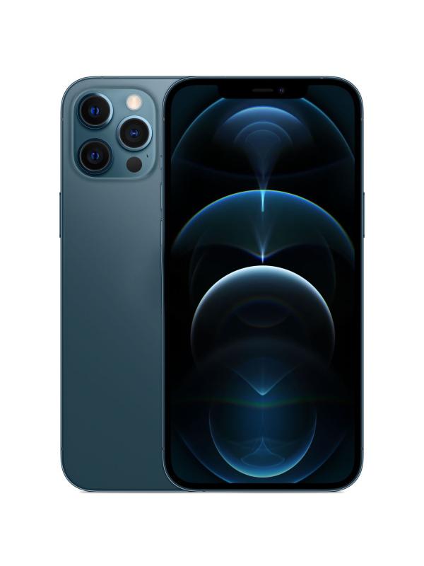 Фото - Сотовый телефон APPLE iPhone 12 Pro 256Gb Pacific Blue MGMT3RU/A Выгодный набор + серт. 200Р!!! сотовый телефон apple iphone 12 pro 256gb graphite mgmp3ru a