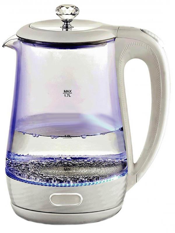 Чайник Kelli KL-1404 1.7L White