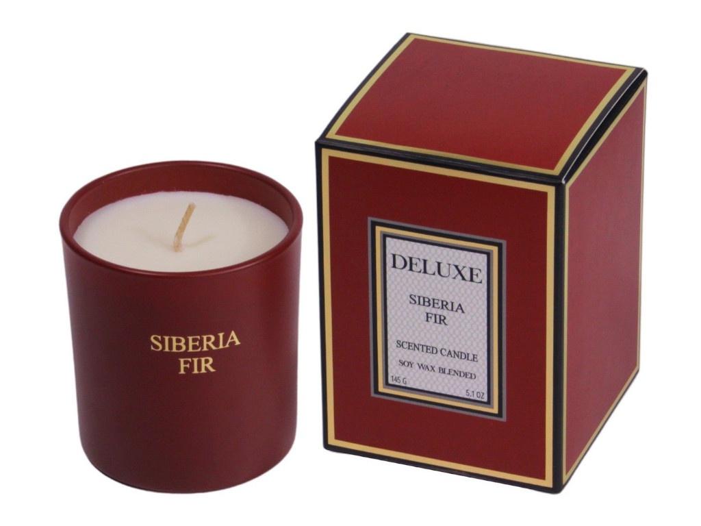 Ароматическая свеча Kaemingk Deluxe Aroma Сибирская пихта 8cm 205661/164840