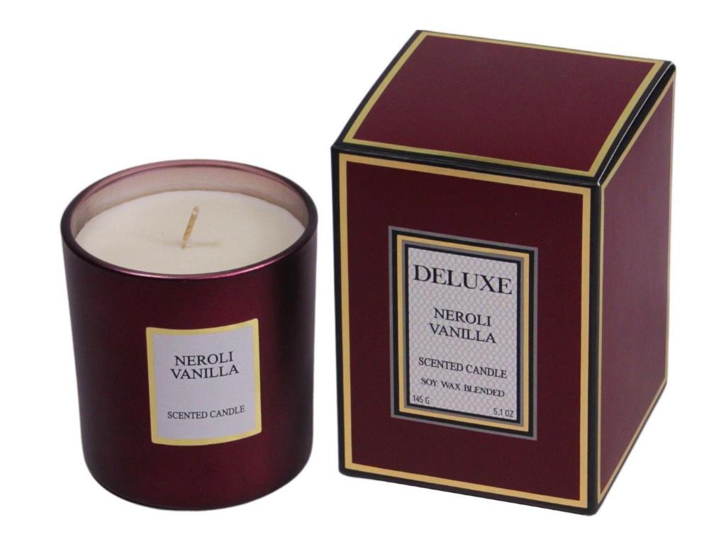 Ароматическая свеча Kaemingk Deluxe Aroma Нероли-Ваниль 205664/164841