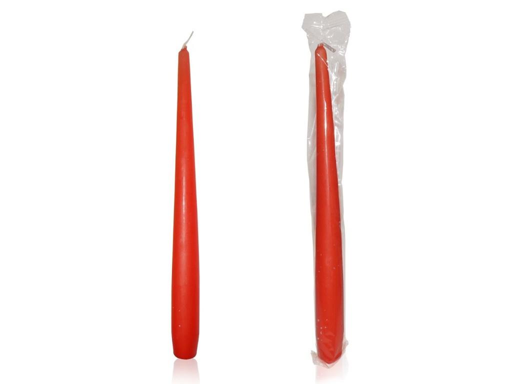 Набор античных ароматических свечей Омский свечной Клубника 25cm 2шт 003106