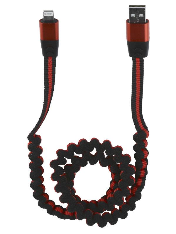 Аксессуар Liberty Project USB - Lightning 0.75-1.2m Black 0L-MG-WF173 аксессуар liberty project кабель usb lightning 3m black 0l 00027933