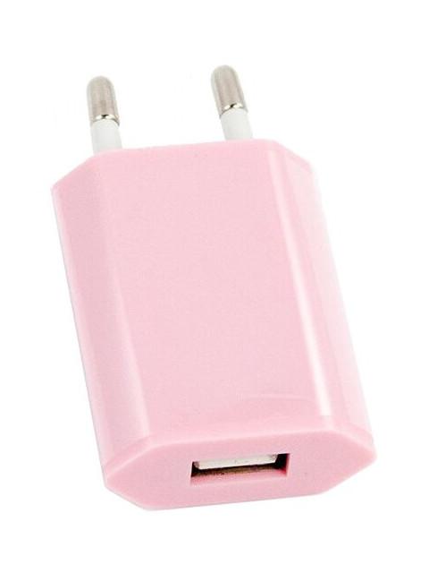 Зарядное устройство Liberty Project USB 1А Pink R0003919