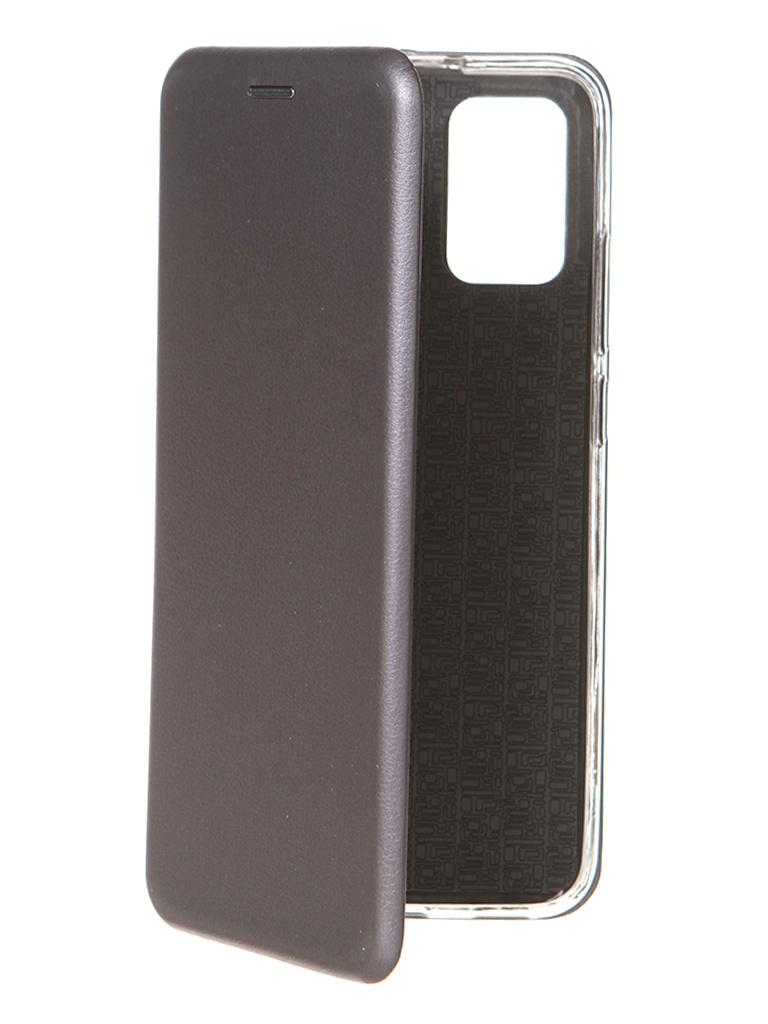 Чехол Zibelino для Samsung Galaxy A02s Book Platinum Grey ZB-SAM-A02S-GREY