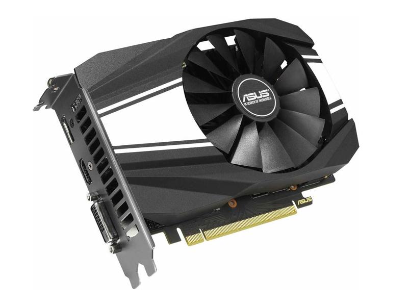 Видеокарта ASUS GeForce GTX 1650 Super Phoenix 1530Mhz PCI-E 3.0 4096Mb 12002Mhz 128 bit DVI DP HDMI PH-GTX1650S-O4G Выгодный набор + серт. 200Р!!!