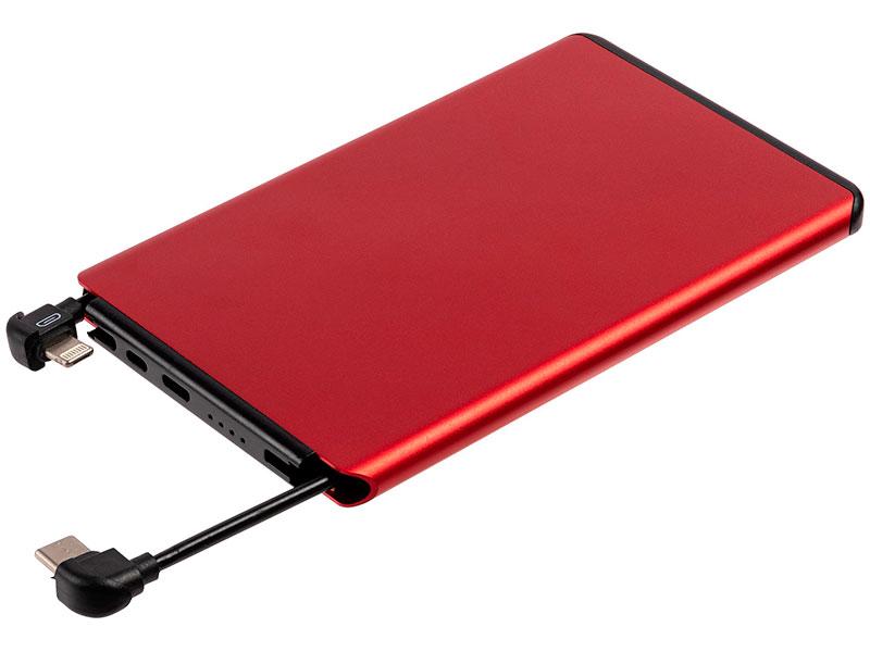 Внешний аккумулятор Molti Double Reel 5000mAh Red 20200.50