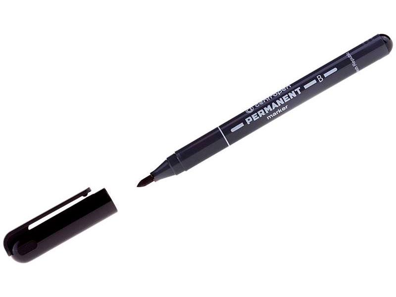 Маркер Centropen 2mm Black 6 2836 0012