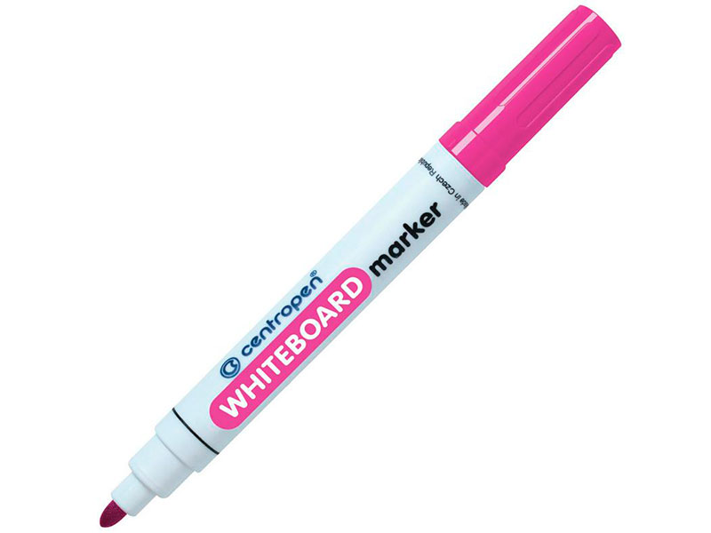 Маркер Centropen Dry-Wipe 2.5mm Pink 5 8559 0103