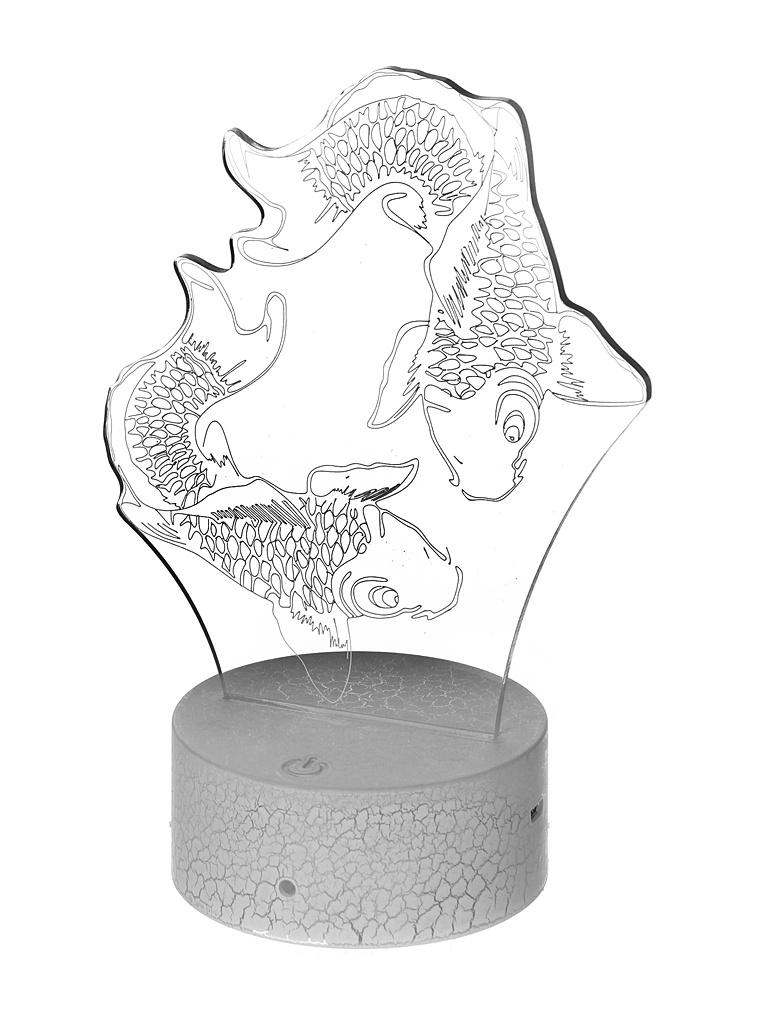 3D лампа Palmexx Карпы LED RGB PX/LAMP-043