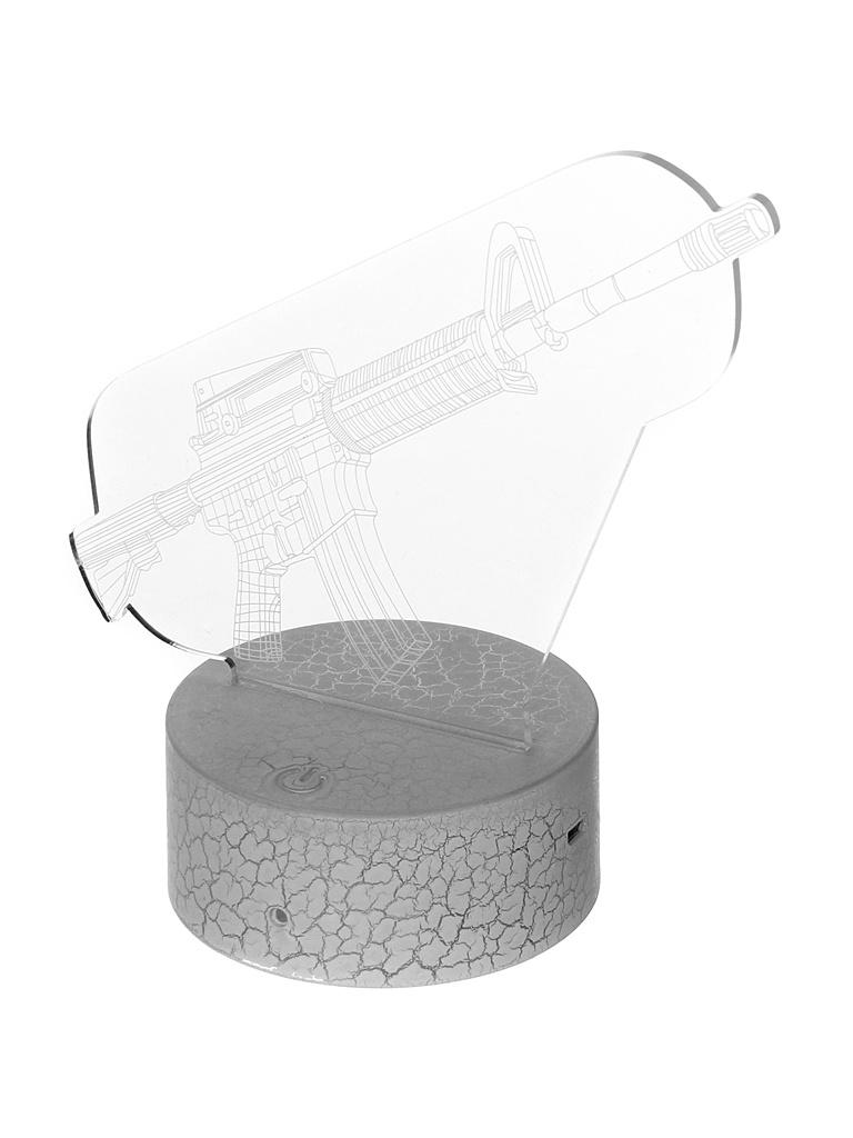 3D лампа Palmexx Ружье LED RGB PX/LAMP-040