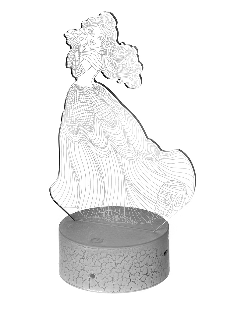 3D лампа Palmexx Принцесса LED RGB PX/LAMP-036