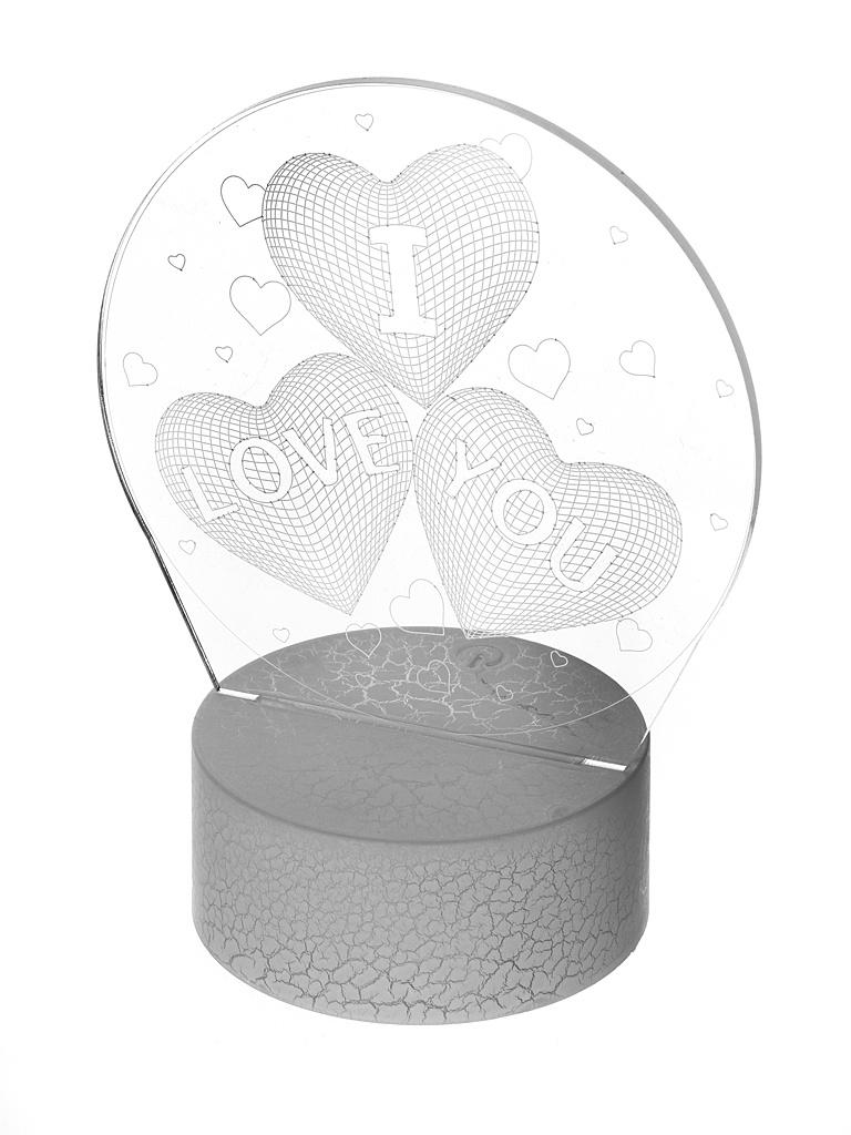 3D лампа Palmexx Я тебя люблю LED RGB PX/LAMP-031