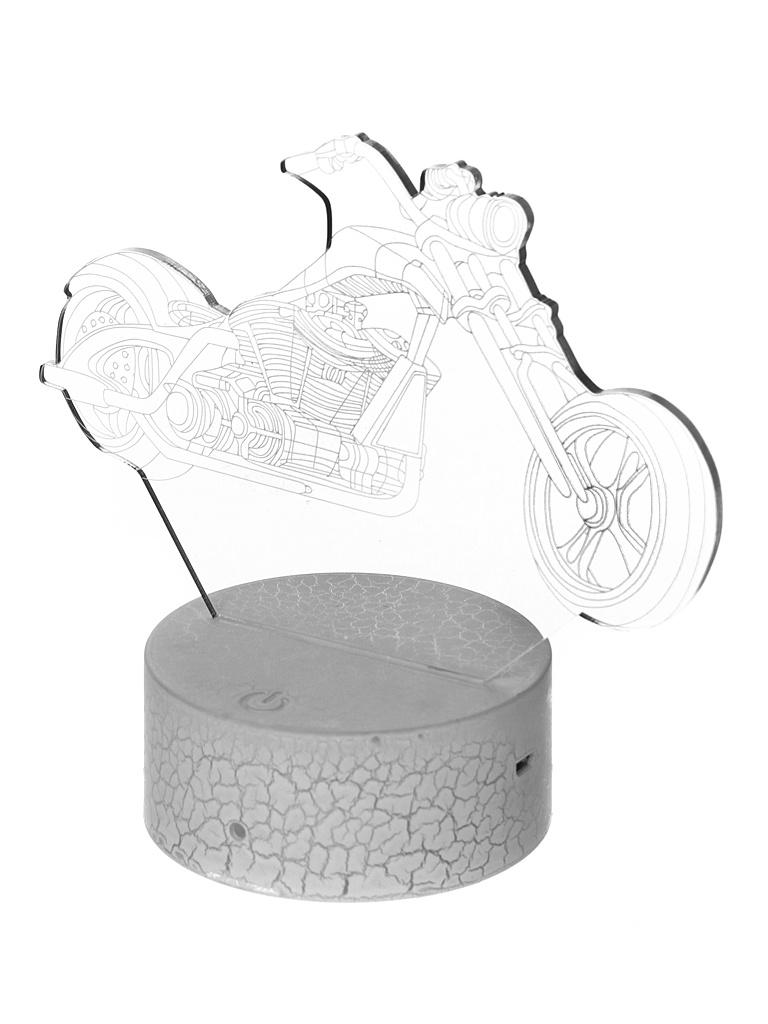 3D лампа Palmexx Мотоцикл LED RGB PX/LAMP-029