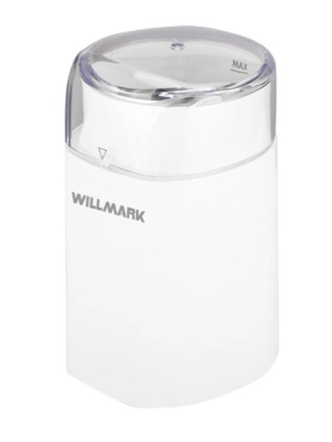 Кофемолка Willmark WCG-215 White