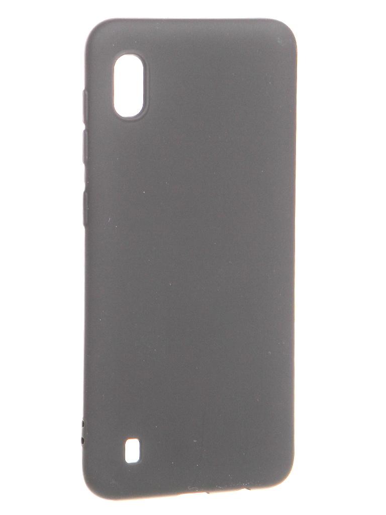 Чехол Krutoff для Samsung Galaxy A10 A105 Silicone Black 12399