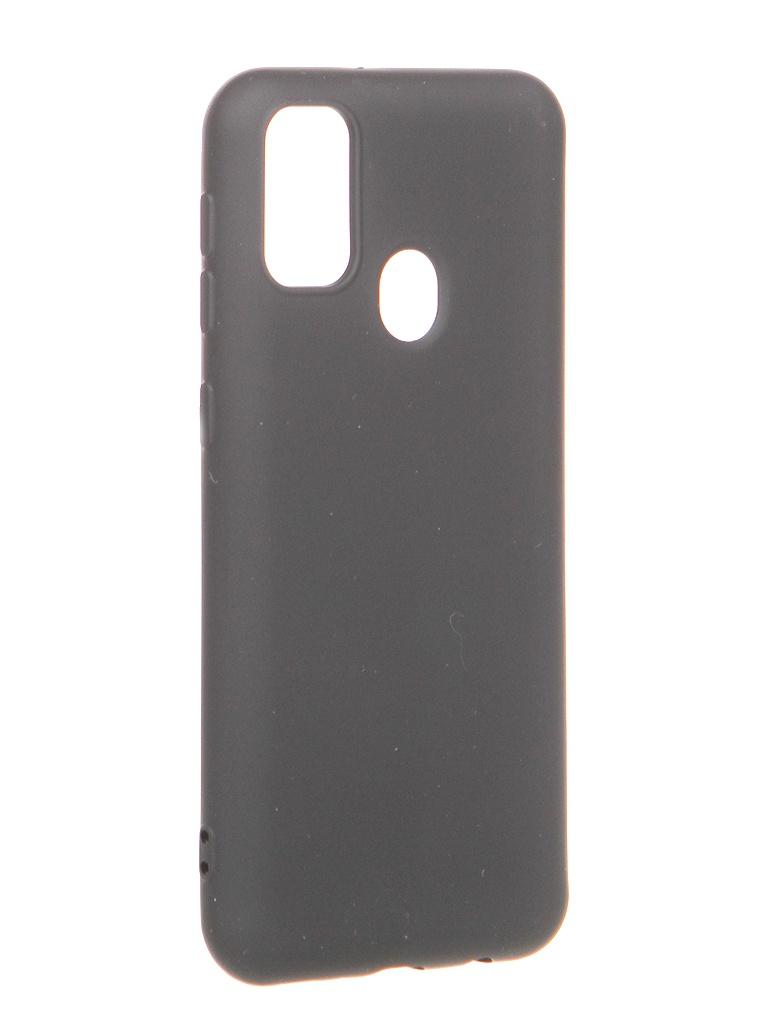 Чехол Krutoff для Samsung Galaxy M21 M215 Silicone Black 12442