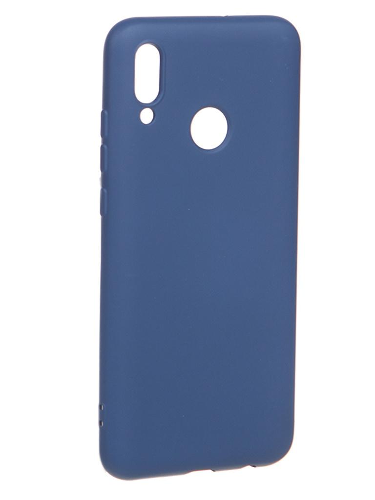 Чехол Krutoff для Huawei P Smart 2019/Honor 10 Lite Silicone Blue 12321