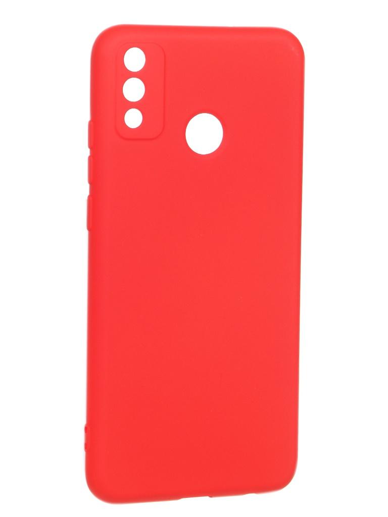 Чехол Krutoff для Honor 9X Lite Silicone Red 12315
