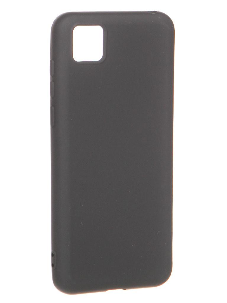 Чехол Krutoff для Honor 9S/Huawei Y5p Silicone Black 12313