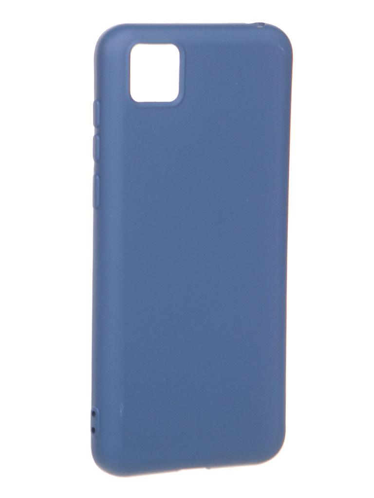 Чехол Krutoff для Honor 9S/Huawei Y5p Silicone Blue 12311