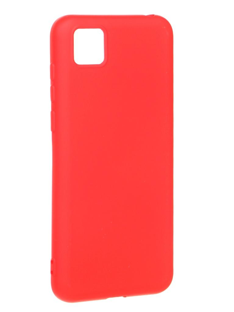 Чехол Krutoff для Honor 9S/Huawei Y5p Silicone Red 12309