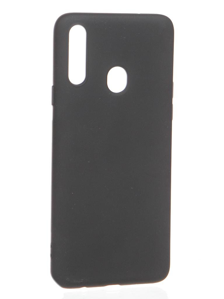 Чехол Krutoff для Samsung Galaxy A20s A207 Silicone Black 12282