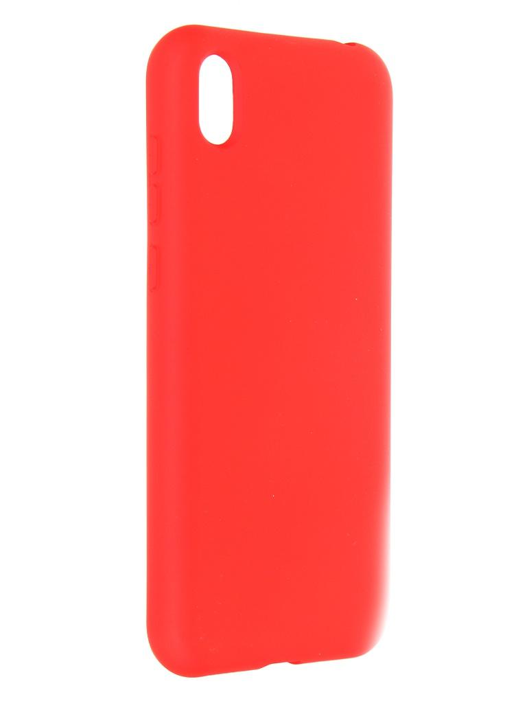 Чехол Krutoff для Huawei Y5 2019 / Honor 8S Prime Silicone Case Red 12333