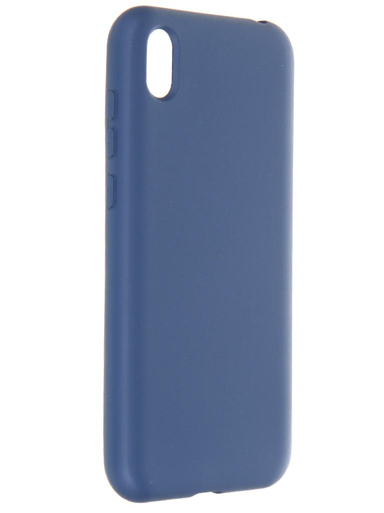 Чехол Krutoff для Huawei Y5 2019 / Honor 8S Prime Silicone Case Blue 12335