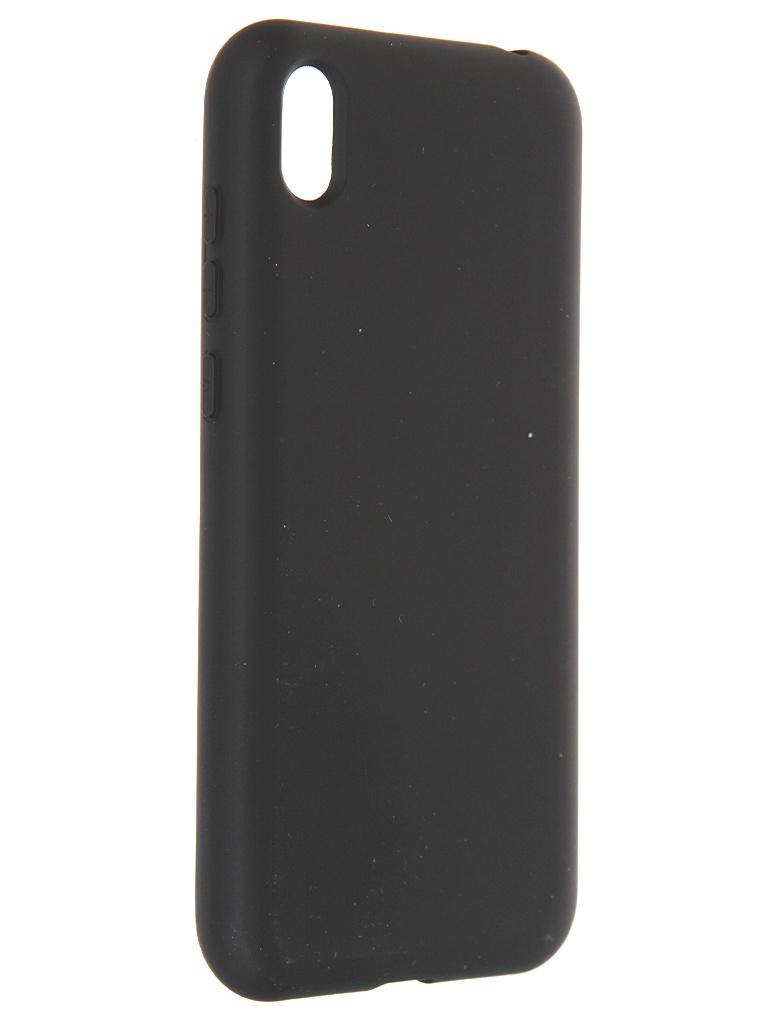 Фото - Чехол Krutoff для Huawei Y5 2019 / Honor 8S / 8S Prime Silicone Case Black 12337 защитное стекло activ для huawei honor 8s 8s prime y5 2019 clean line 3d full screen black 101744