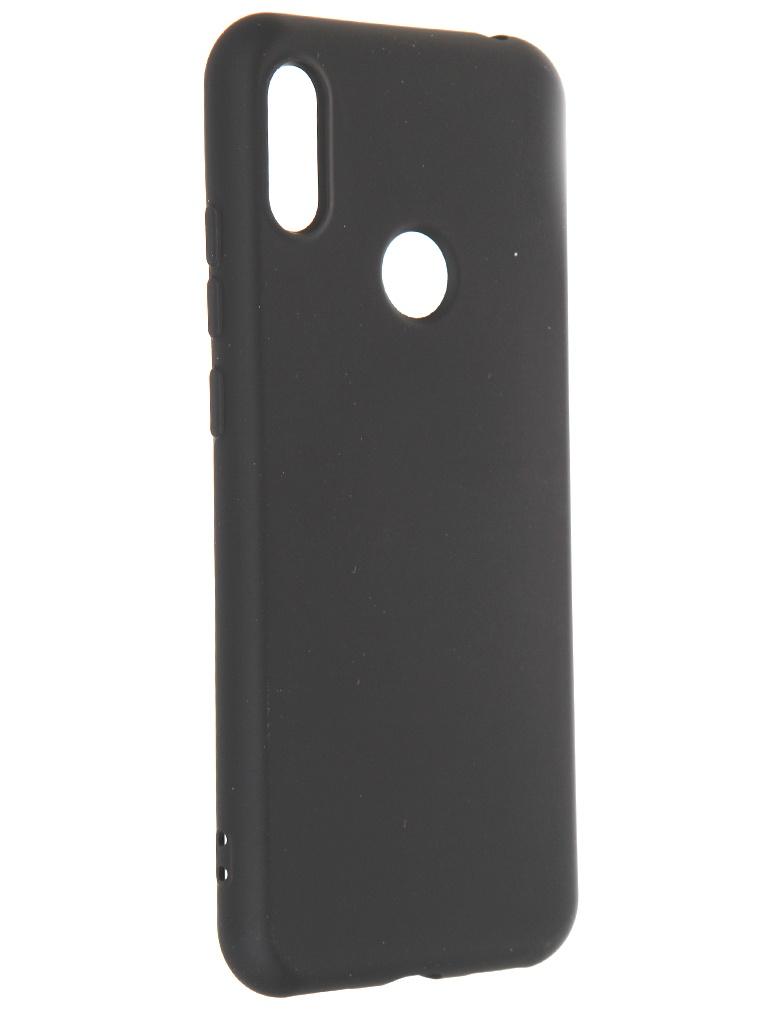 Чехол Krutoff для Huawei Y6 2019 / Y6s Honor 8A Pro Prime Silicone Case Black 12347