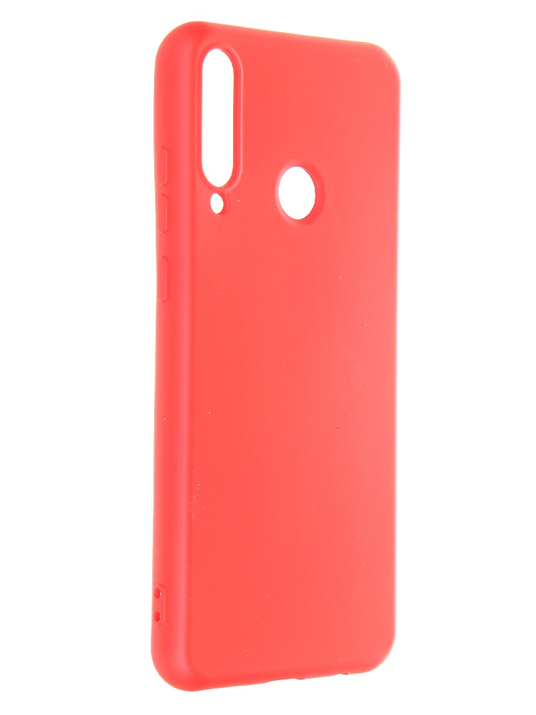 Чехол Krutoff для Huawei Y6p Silicone Case Red 12349