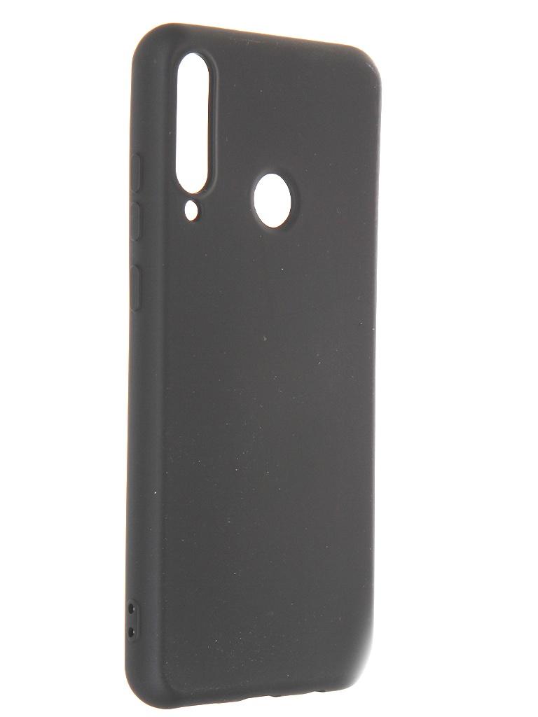 Чехол Krutoff для Huawei Y6p Silicone Case Black 12353